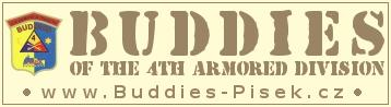 BUDDIES of the 4th Armored Division Písek